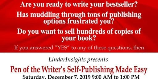LindarInsights Publishing Presents Self-Publishing Made Easy