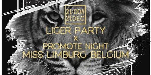 Liger Party X Promo night Miss Limburg Belgium