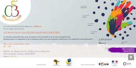 Quelles place et adaptation de la diaspora  face aux mutations sociales ? billets