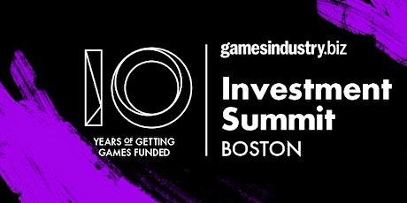 GamesIndustry.biz Investment Summit @ PAX East 2020 tickets