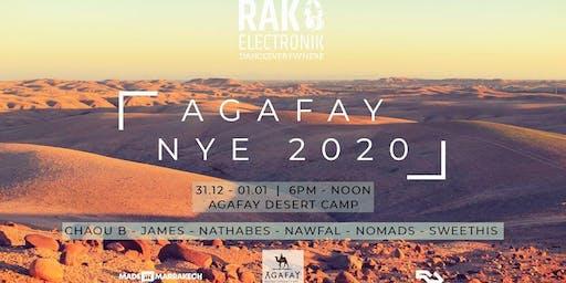 RAK AGAFAY NYE 2020