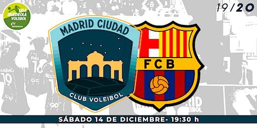 LIGA IBERDROLA VOLEIBOL (J10): Madrid Chamberí vs Barça CVB