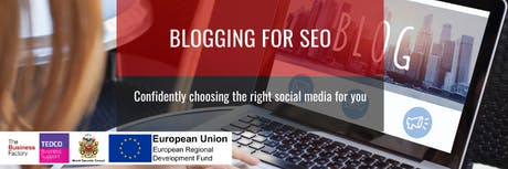 Blogging for SEO | Monday 9th December at 1.30pm tickets