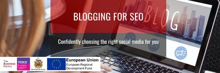 Blogging for SEO | Monday 9th December at 1.30pm