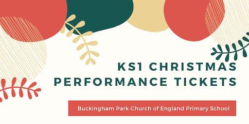 KS1 Christmas Performance - Afternoon Performance