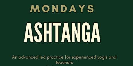 Ashtanga classes tickets