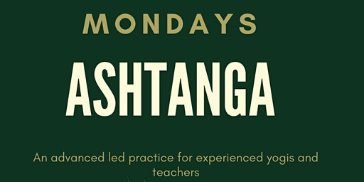 Ashtanga classes