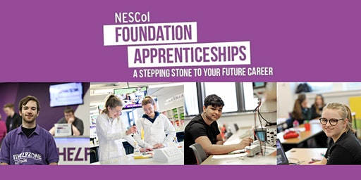 Foundation Apprenticeship Information Session - Fraserburgh Campus