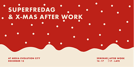 """Superfredag Seminar 13/12 """"How to make 2020 better than 2019!"""" with Telavox tickets"""
