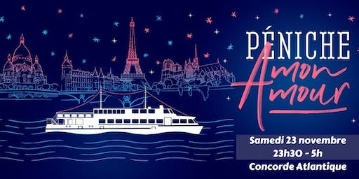 ★International Boat Party / Samedi 23 novembre/ Concorde Atlantique ★