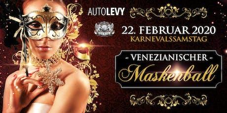Karneval in Düsseldorf   Venezianischer Maskenball 22.02.2020 Tickets