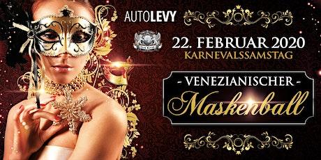 Karneval in Düsseldorf | Venezianischer Maskenball 22.02.2020 Tickets