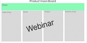 Webinar:Product Vision Board - 17/12 - GRATUITO