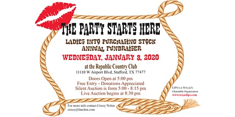 LIPS Annual January Fundraiser tickets