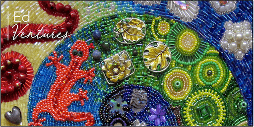 Beaded Embroidery Course – Cat Candow