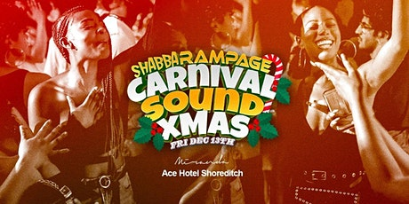 Carnival Sound Shoreditch - Xmas Party tickets