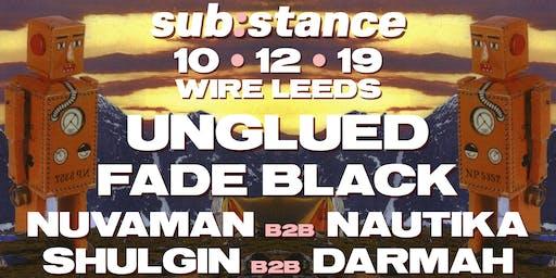 sub:stance Leeds 03 - Unglued, Fade Black