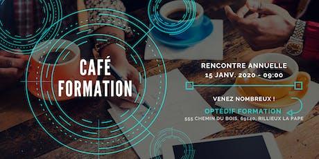 Café Formation billets