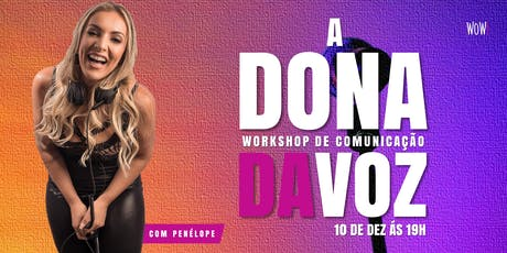 Workshop de Comunicação - Com Penélope da Pan ingressos