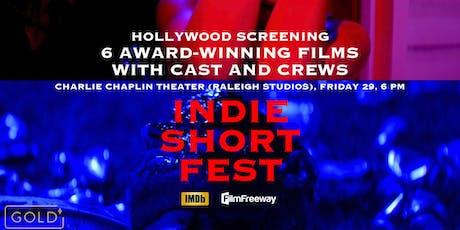 Indie Short Fest November Live Screening tickets