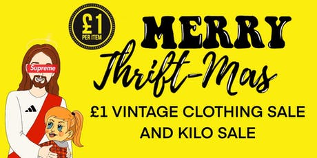 £1 VINTAGE CLOTHING SALE & KILO SALE tickets