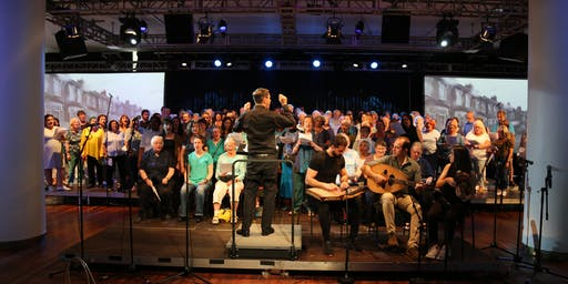 FESTIVE CONCERT featuring the MIXED UP CHORUS and SING FOR FREEDOM