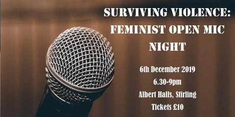 Surviving Violence: Feminist Open Mic Night tickets