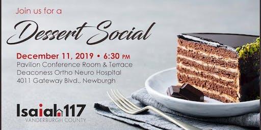 Isaiah 117 House Dessert Social