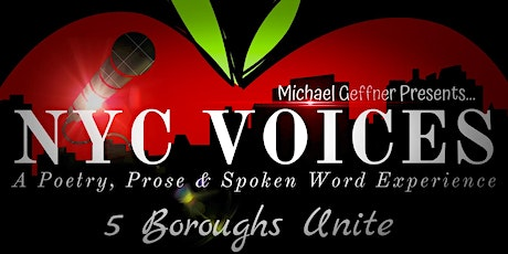 NYC Voices: A Poetry, Prose & Spoken Word Experience - 5 Boroughs Unite tickets