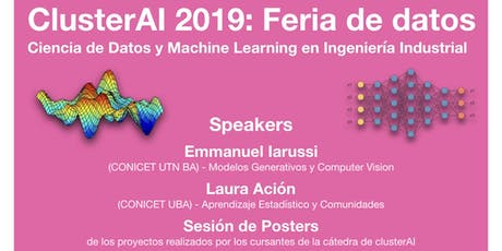 ClusterAI 2019: Feria de Datos y Machine Learning entradas