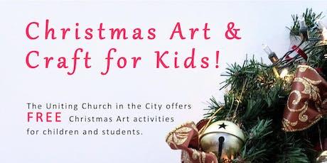 Uniting Church Nativity Art Activities (Year 4 - High School) FREE tickets