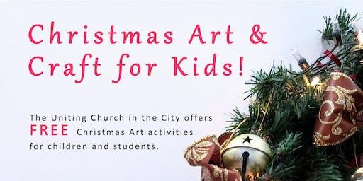 Uniting Church Nativity Art Activities (Year 4 - High School) FREE