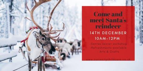 Visit Santa's Workshop and his Reindeer! tickets