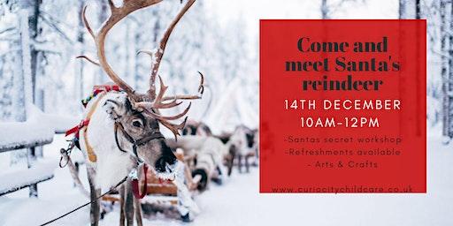 Visit Santa's Workshop and his Reindeer!