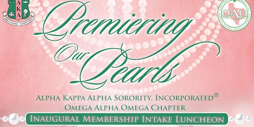 Premiering Our Pearls: New Member Presentation Luncheon