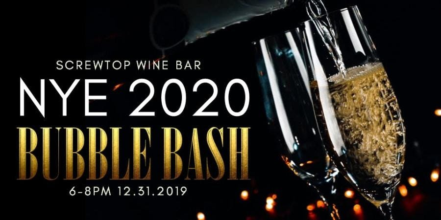 New Years Eve Bubble Bash
