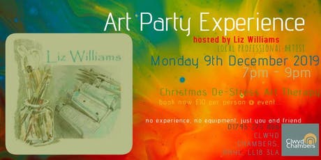 Art Party Experience Hosted By Liz Williams tickets
