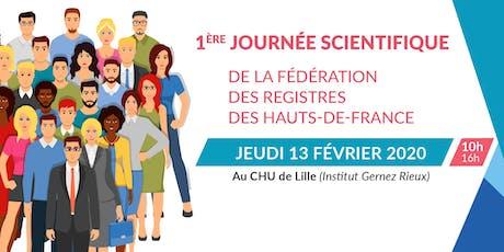 1ere journée scientfique de la fédération des registres des hauts-de-france billets