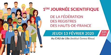 1ere journée scientifique - Fédération des registres des hauts-de-france billets