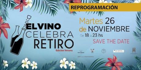 El Vino Celebra Retiro 2x1 Clarin 365 entradas