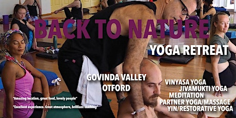 6th Back to Nature Yoga Retreat tickets