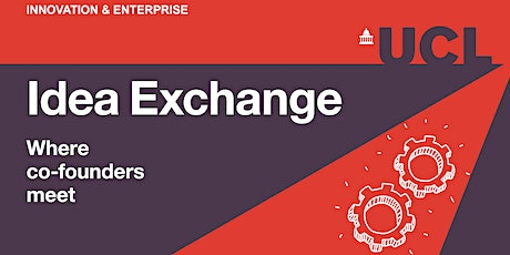 Idea Exchange: where co-founders meet tickets