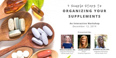 4 Simple Steps to Organizing Your Supplements