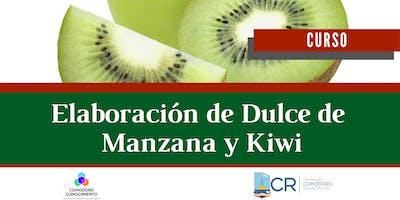 Curso: Elaboración de dulce de manzana y kiwi