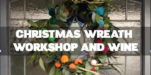 CHRISTMAS WREATH WORKSHOP, 5th or 8th Dec, Hove. £25