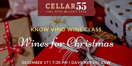 Know Vino -  Wines for Christmas tickets