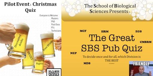 SBS Christmas Pub Quiz!