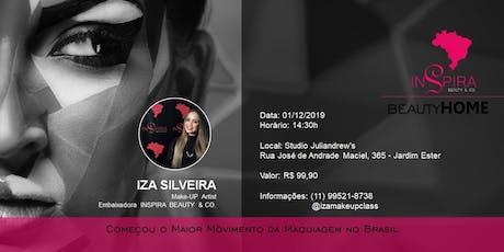 BEAUTY HOME - Auto Make com IZA SILVEIRA ingressos