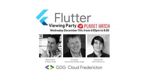 Flutter Interact: Viewing Party and workshop