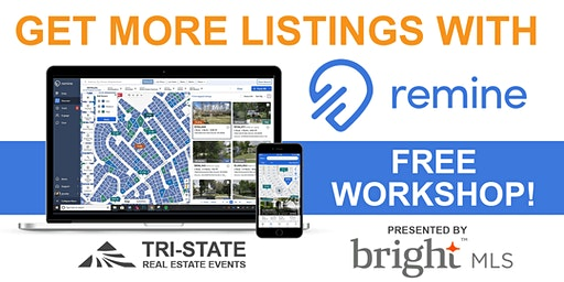 REMINE WORKSHOP -  Presented by BRIGHT (FREE TRAINING)